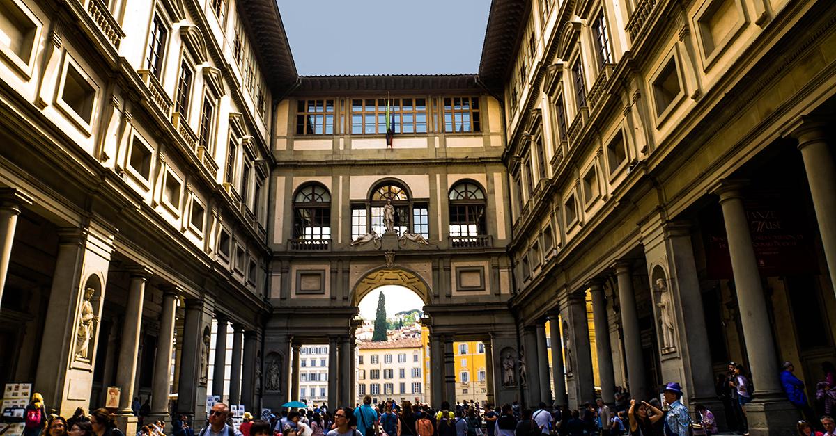 Galeria Uffizi, Florença (Itália)