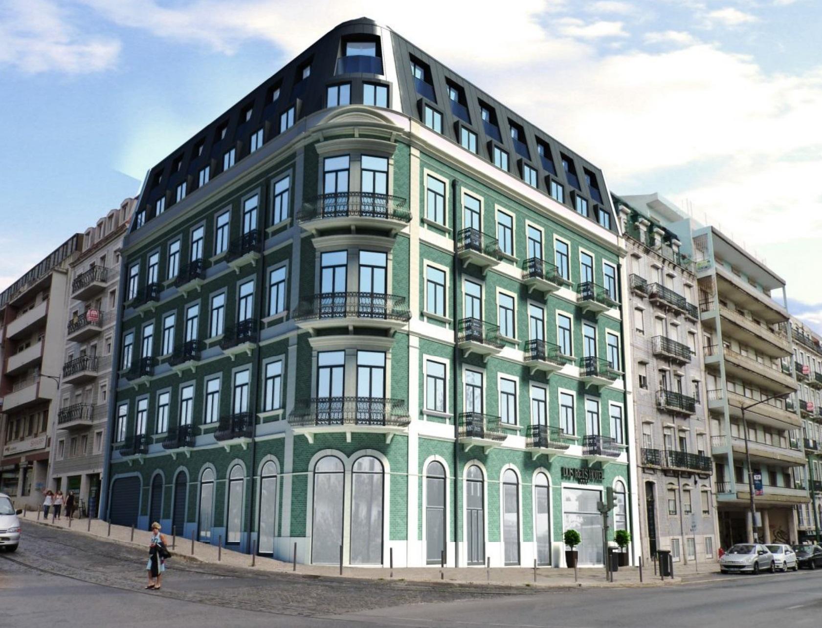 Hotel dos Reis, com 54 quartos, vai nascer no quarteirão da Avenida Almeirante Reis e da Rua Maria Andrade / dstgroup