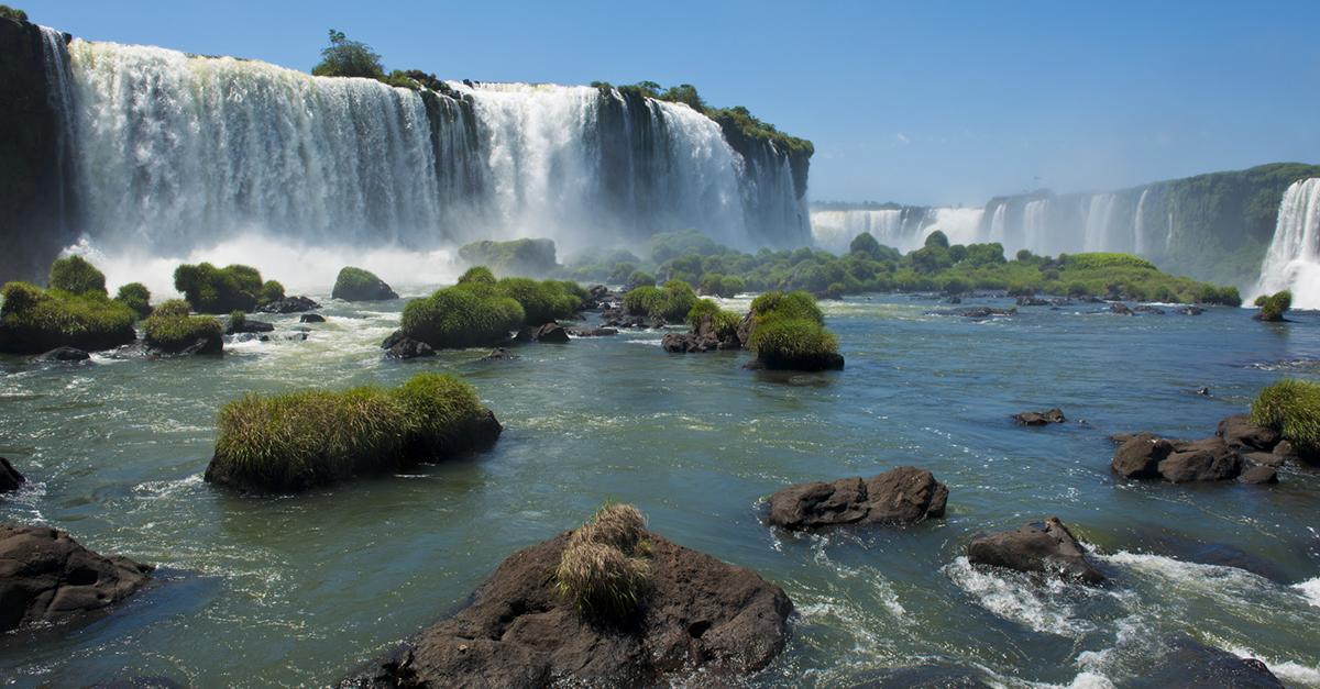 Cataratas de Iguazú, Brasil e Argentina