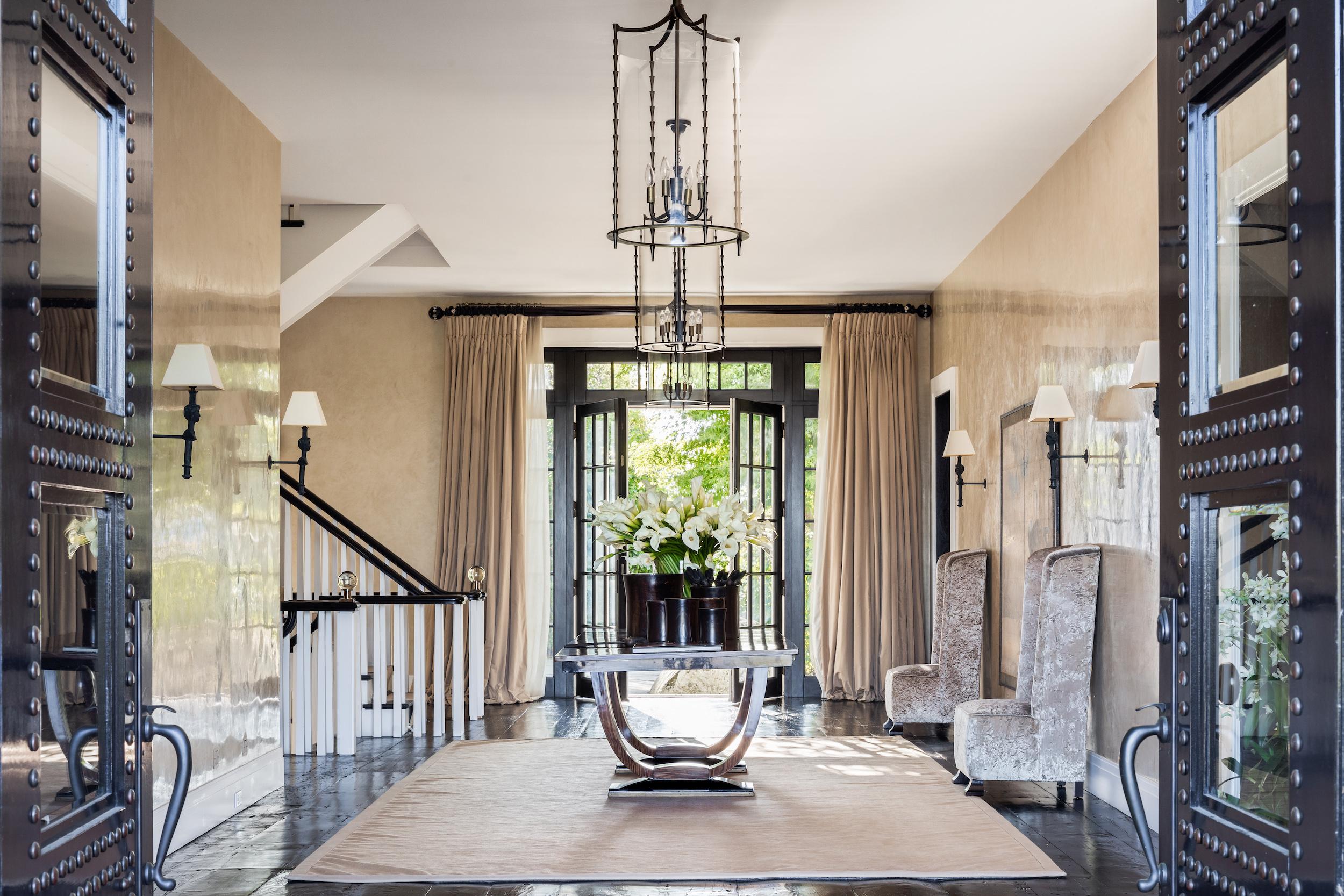 A casa principal tem mais de 2.200 m2