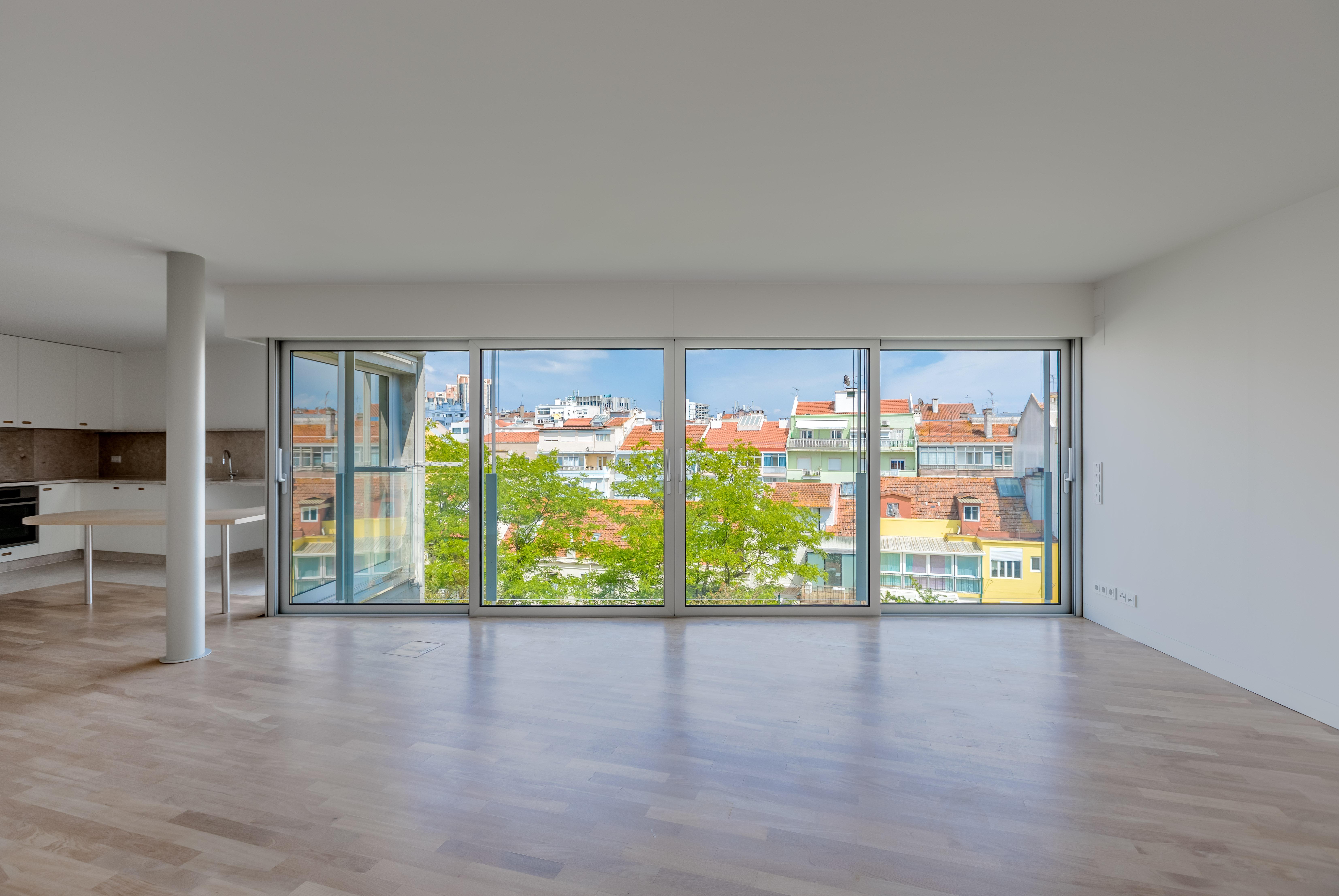 As vistas de uma das casas / JLL