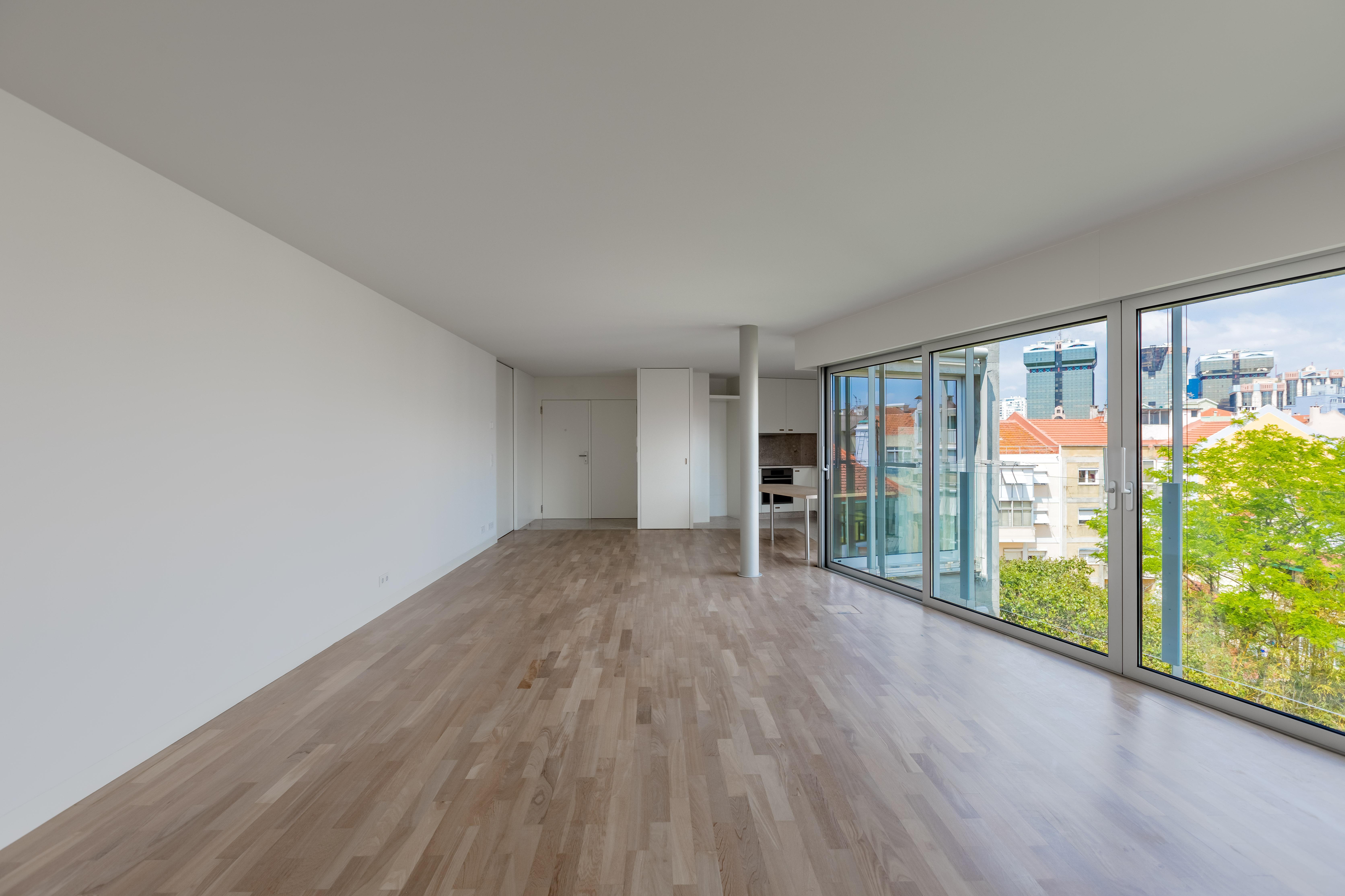 Os apartamentos têm 133 m2 / JLL