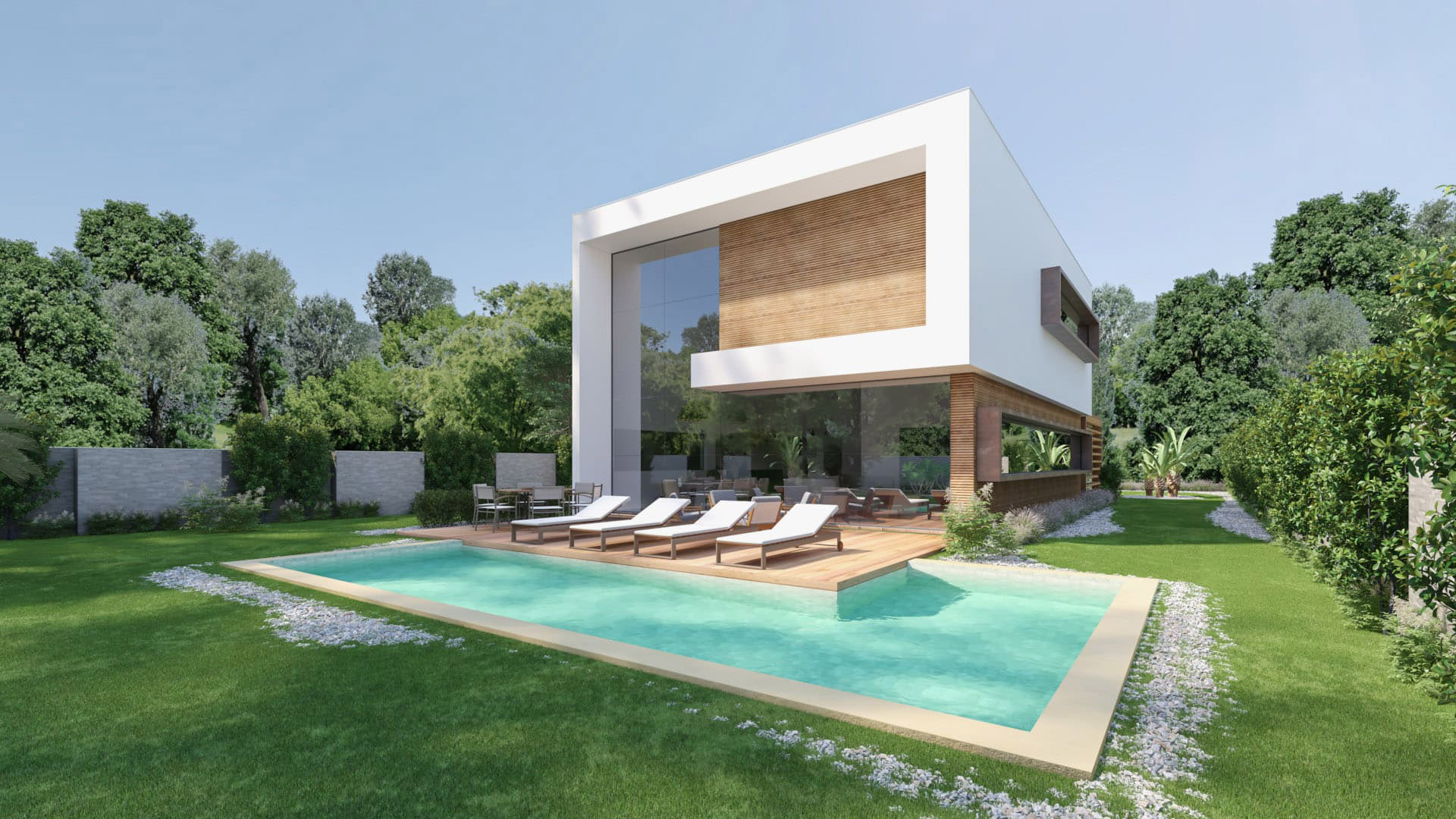 Exemplo de moradia / SILFIDUCIA real estate