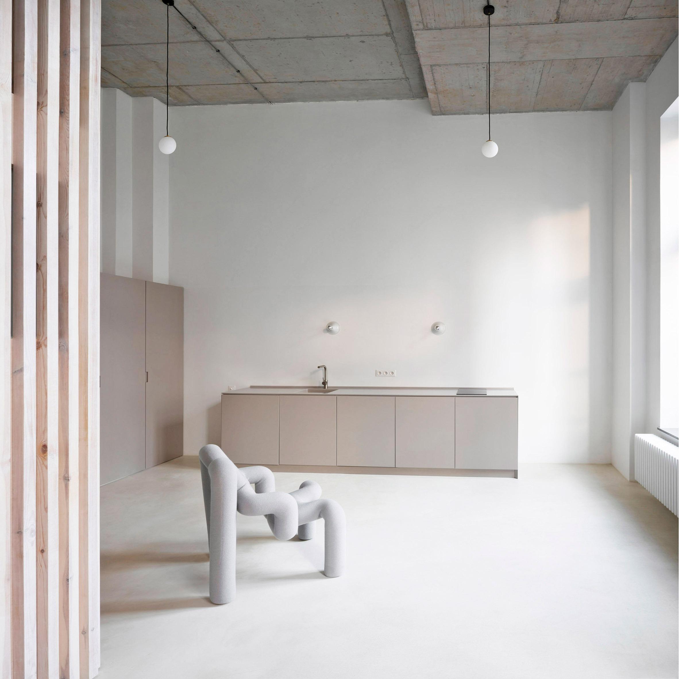 Funcionalidade e estilo na cozinha/sala