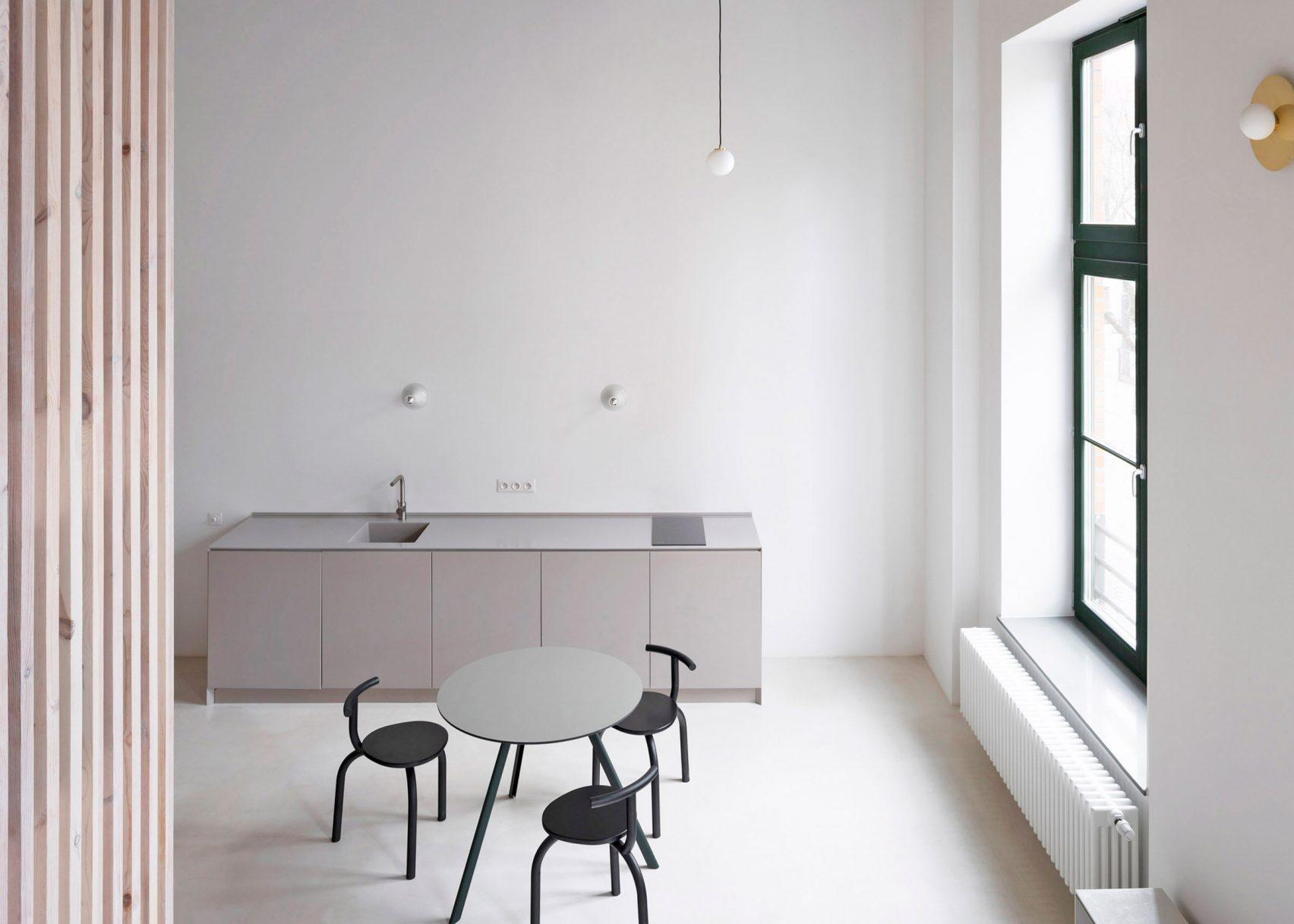 Vista geral do apartamento