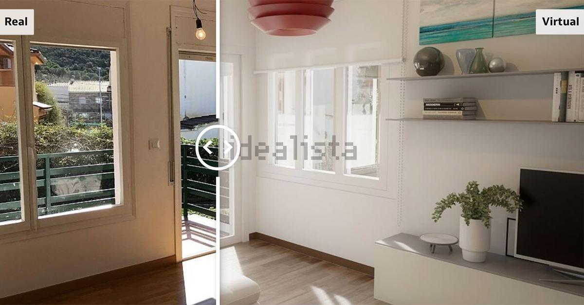 O antes e depois de uma casa com Virtual Home Staging