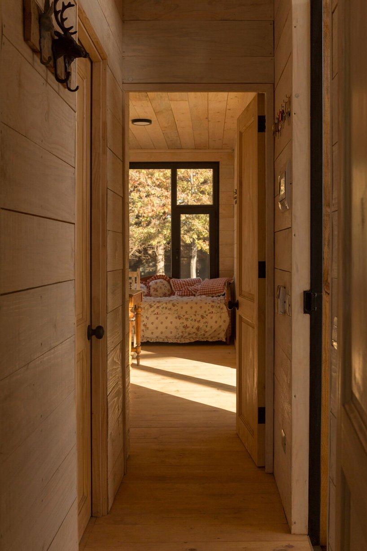 Interior em madeira
