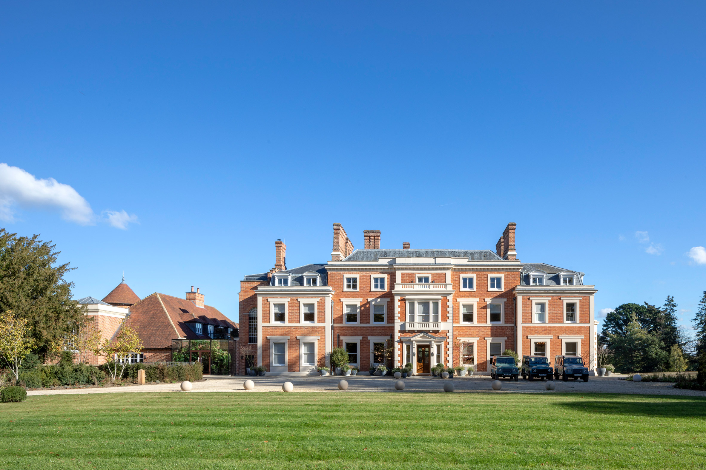 Heckfield Place, em Hampshire (Inglaterra) / Peter Cook