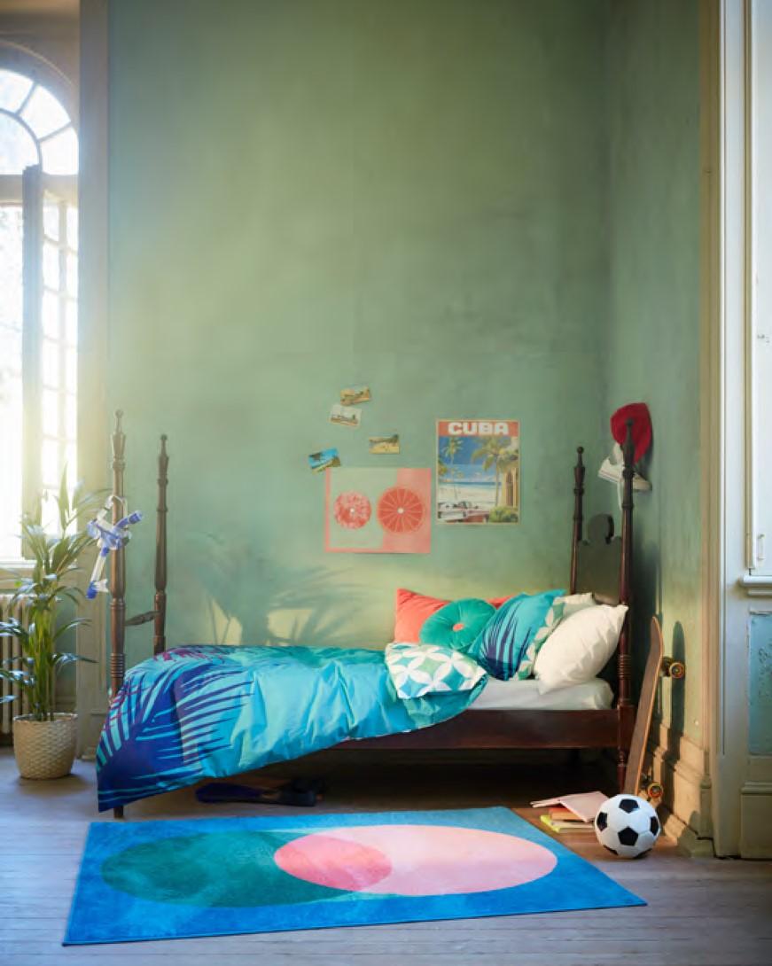 Gama GRACIÖS inclui capas  de edredão, tapetes, capas de almofada e uma almofada / Ikea