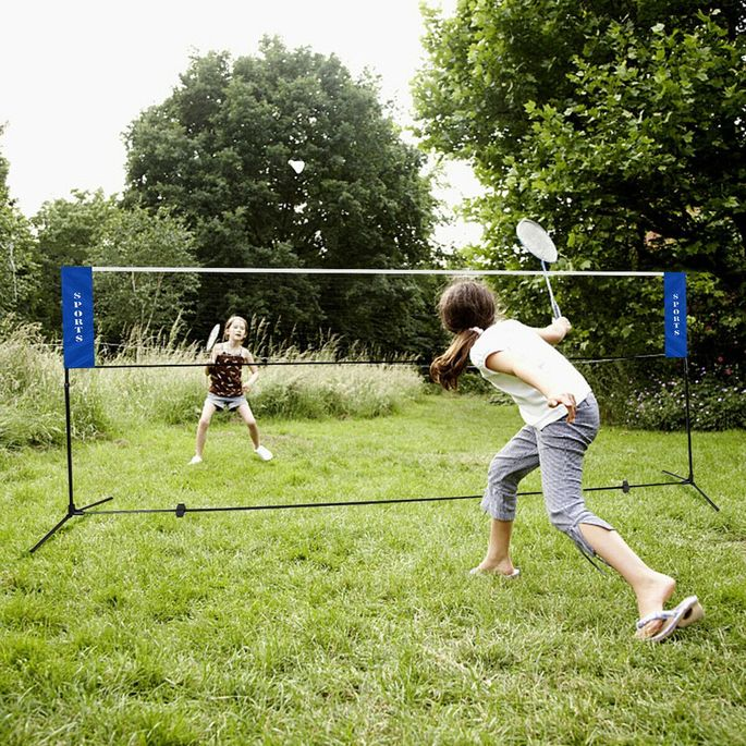 Rede de voleibol ou badminton