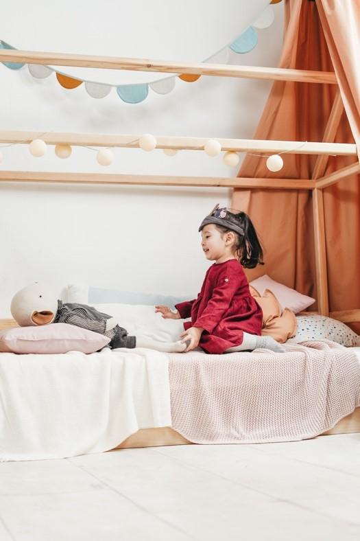 1. Substituir o berço por uma cama de criança