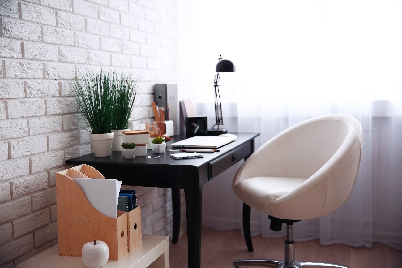 Um escritório em casa