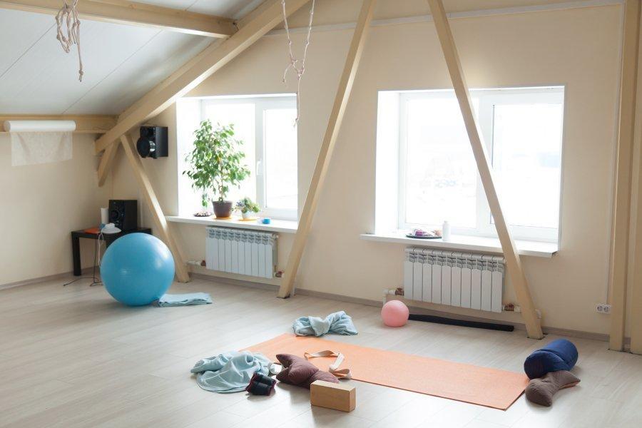Um ginásio em casa