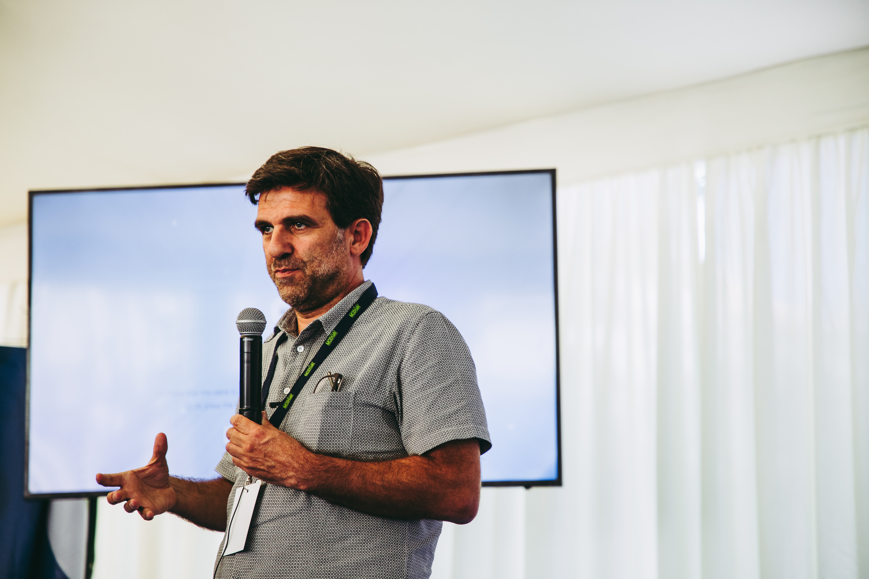 Américo Nave, diretor executivo da Crescer - Associação de Intervenção Comunitária / Crescer