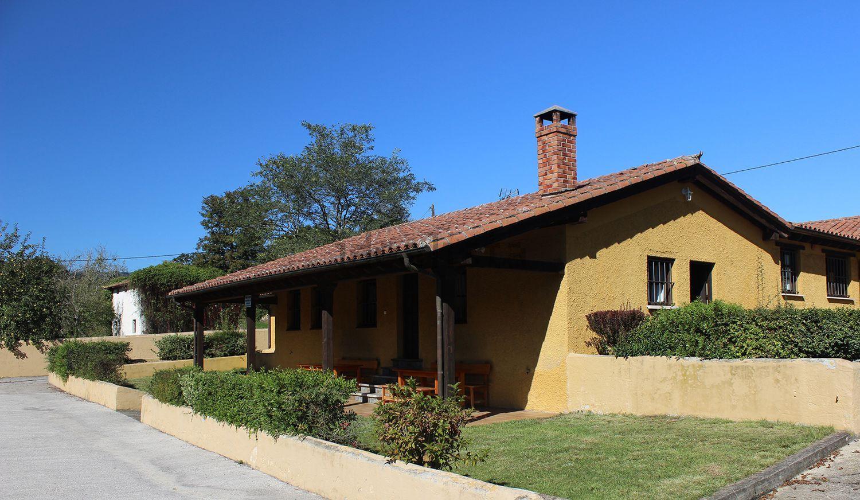 Uma das casas