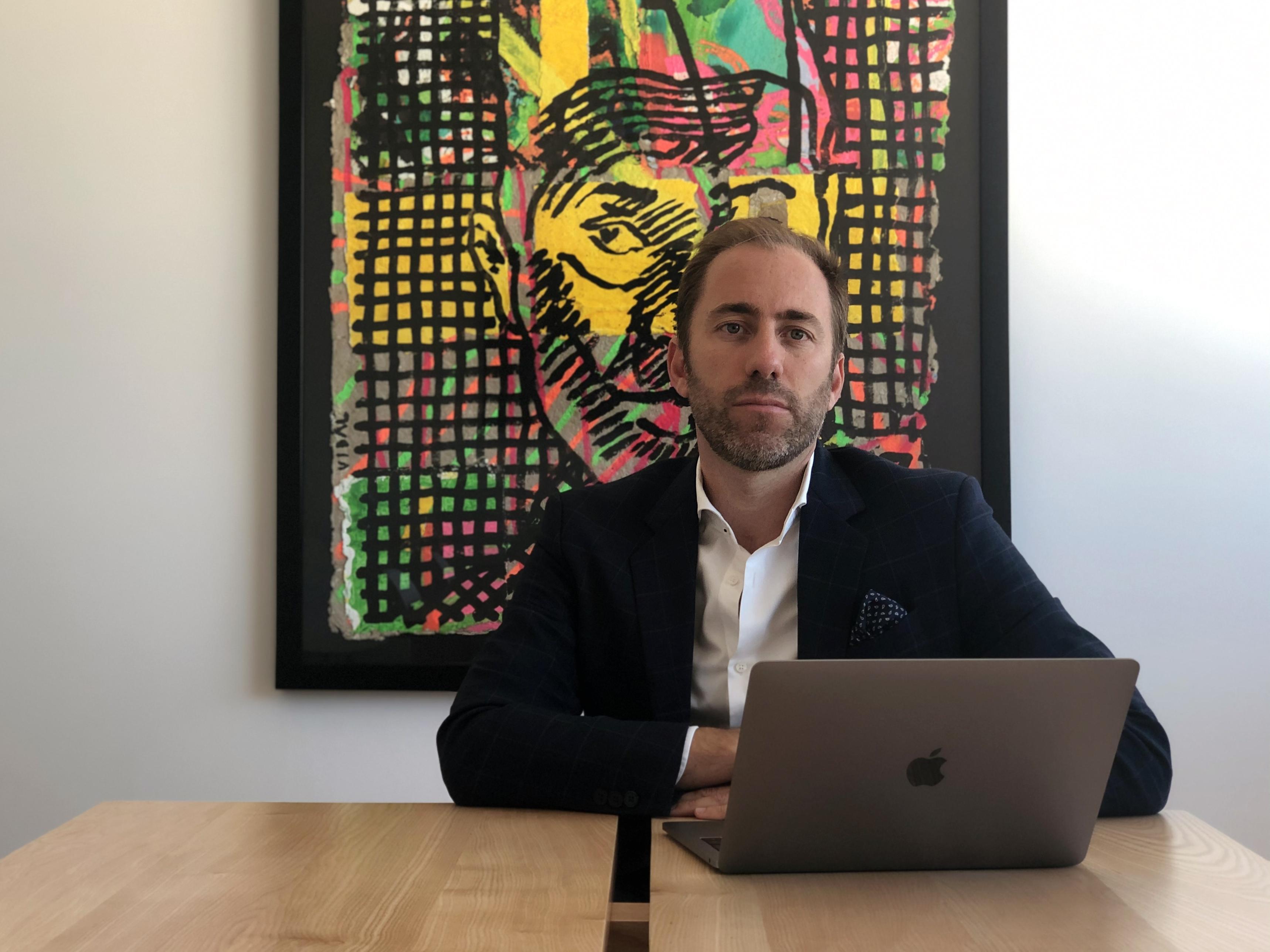 Pedro Lopes Ribeiro, diretor comercial e um dos fundadores da empresa. / IMMOPO