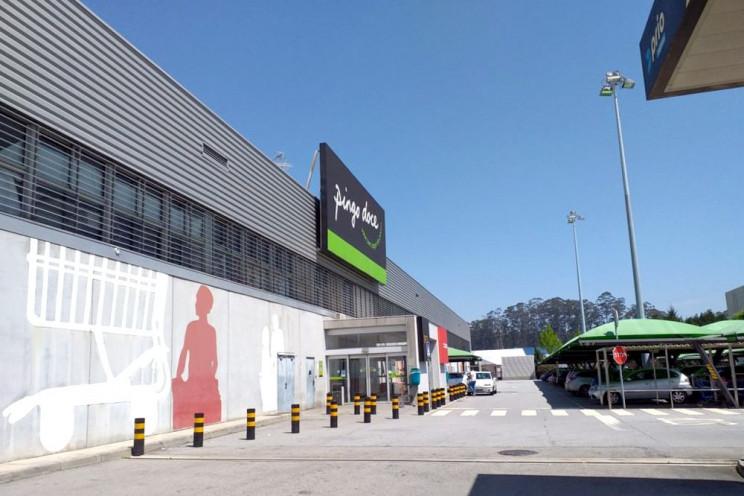 Edifício onde funciona Pingo Doce no Grijó é um dos imóveis comerciais em que a Corum já investiu em Portugal..