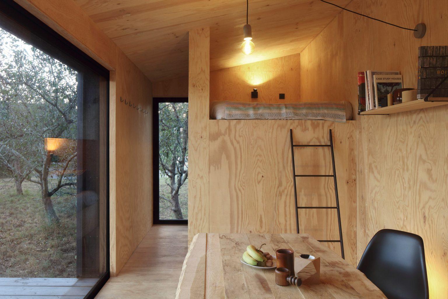 Um open-space
