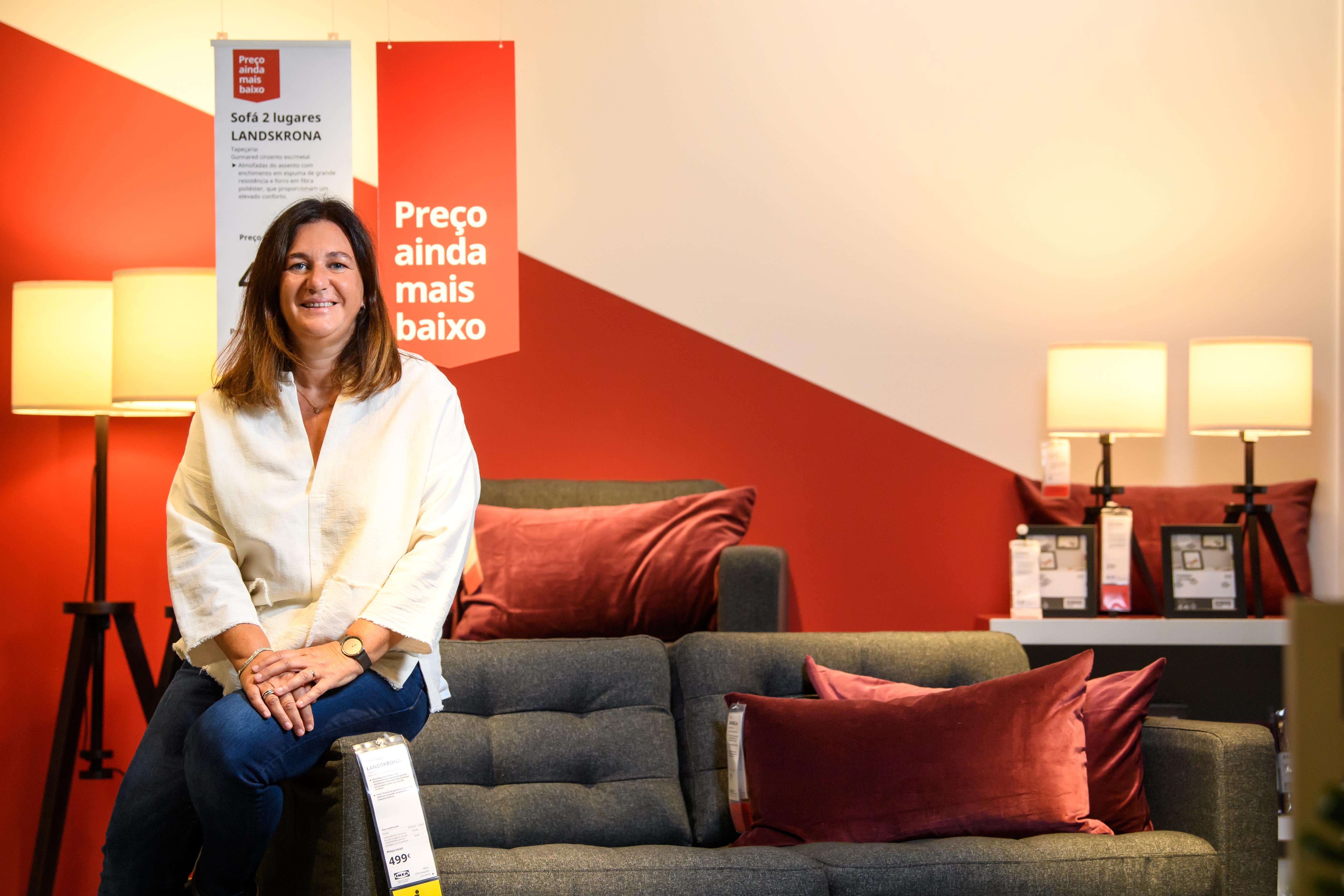 Michaela Quinlan, diretora comercial da Ikea Portugal / Ikea