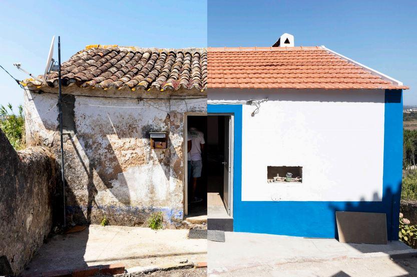 (Antes e depois) - RELATÓRIO DE IMPACTO 2019 / https://www.justachange.pt/