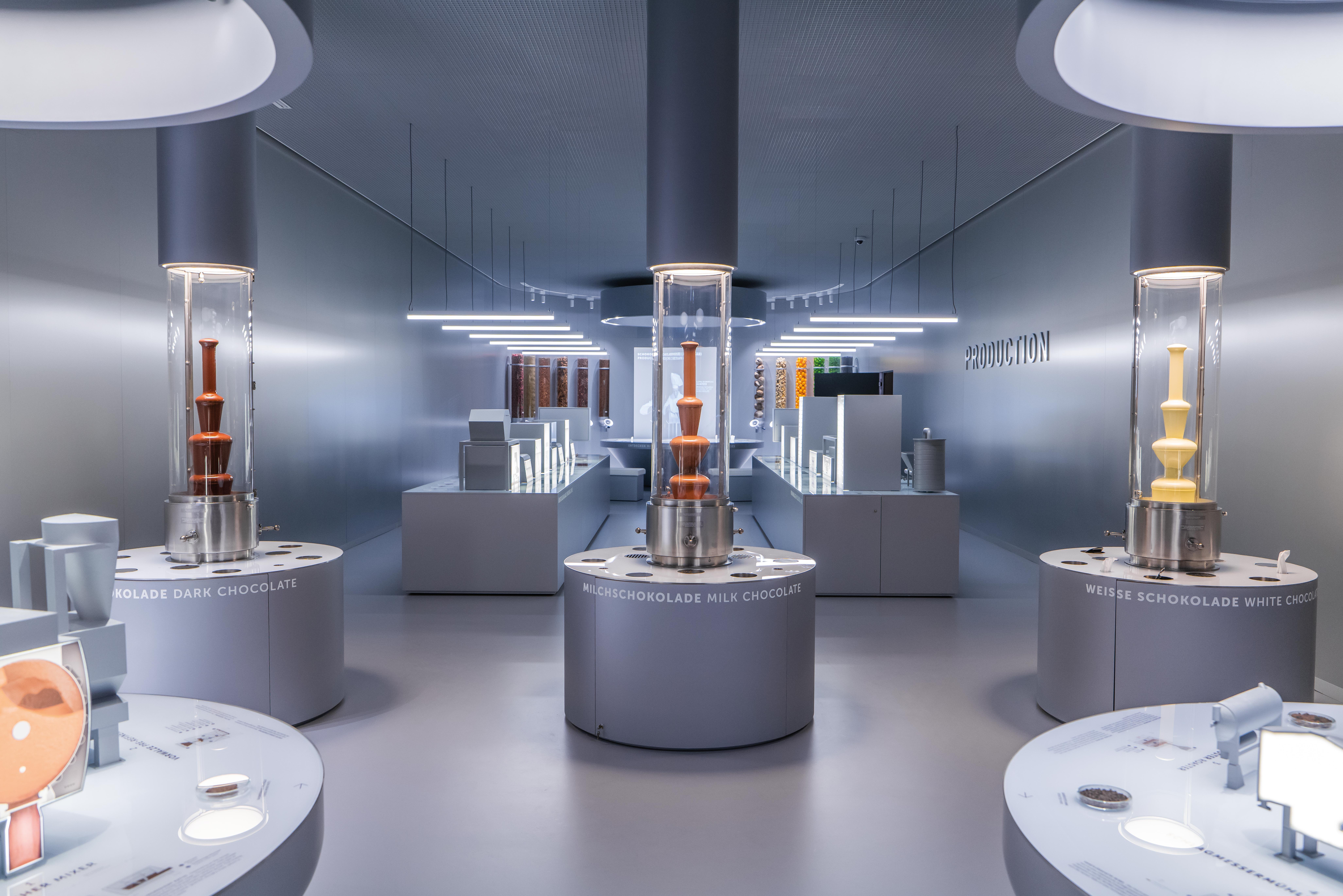 O interior do museu