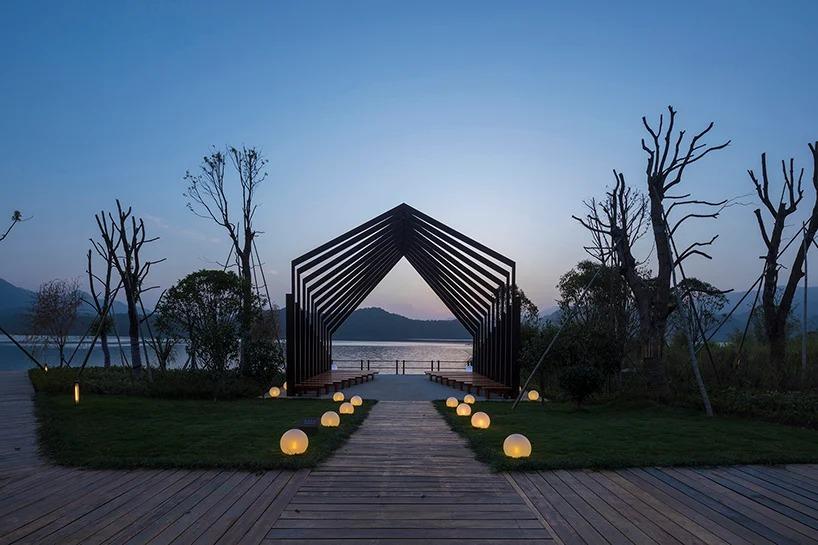 Um resort de luxo