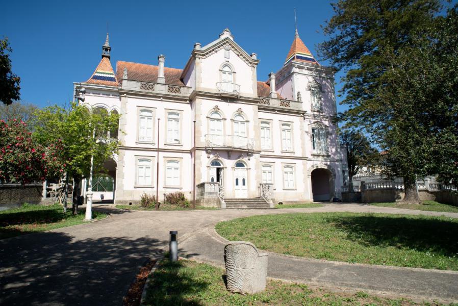Palacete dos Condes, em São João da Madeira.  / Revive