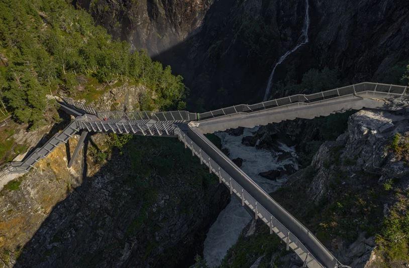 Uma ponte de tirar o fôlego