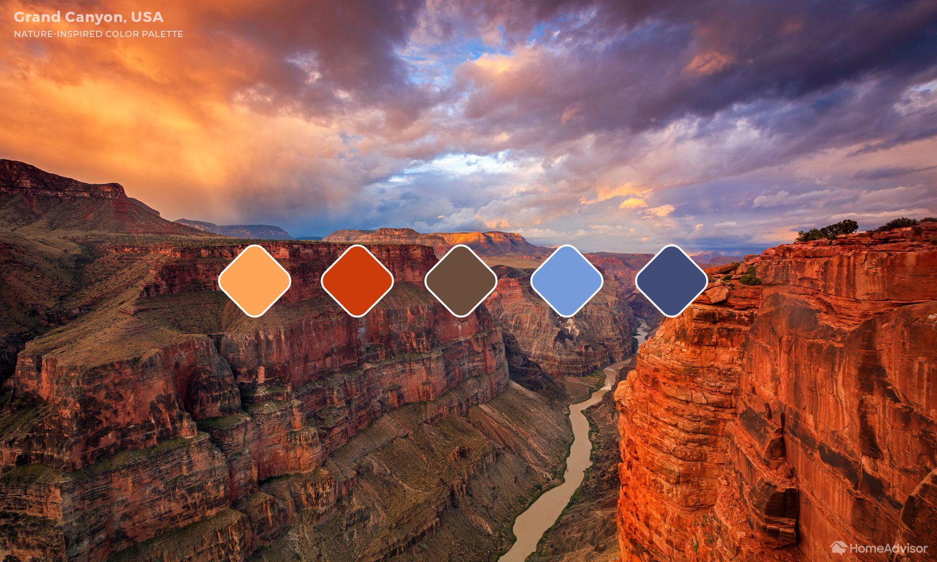 1. Grand Canyon (Arizona, USA)