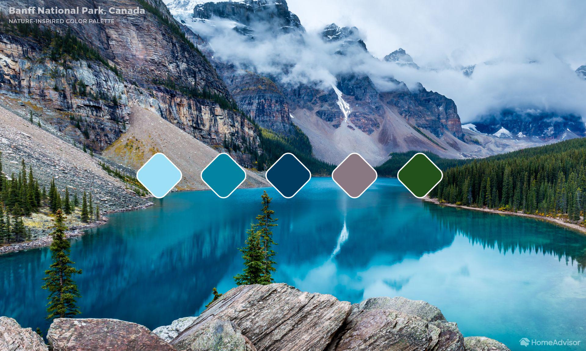 5. Banff National Park (Alberta, Canadá)