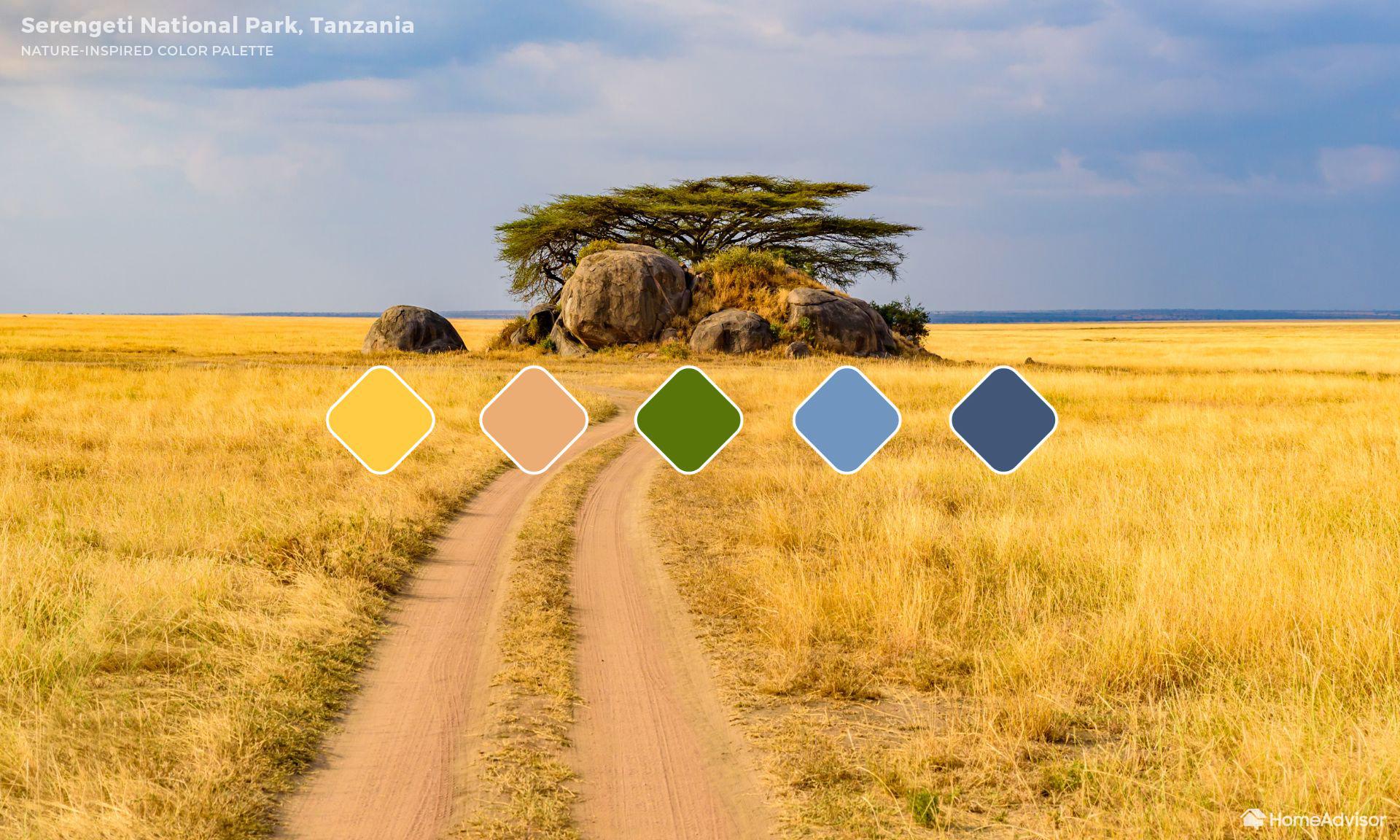 6. Serengeti National Park (Tanzânia)