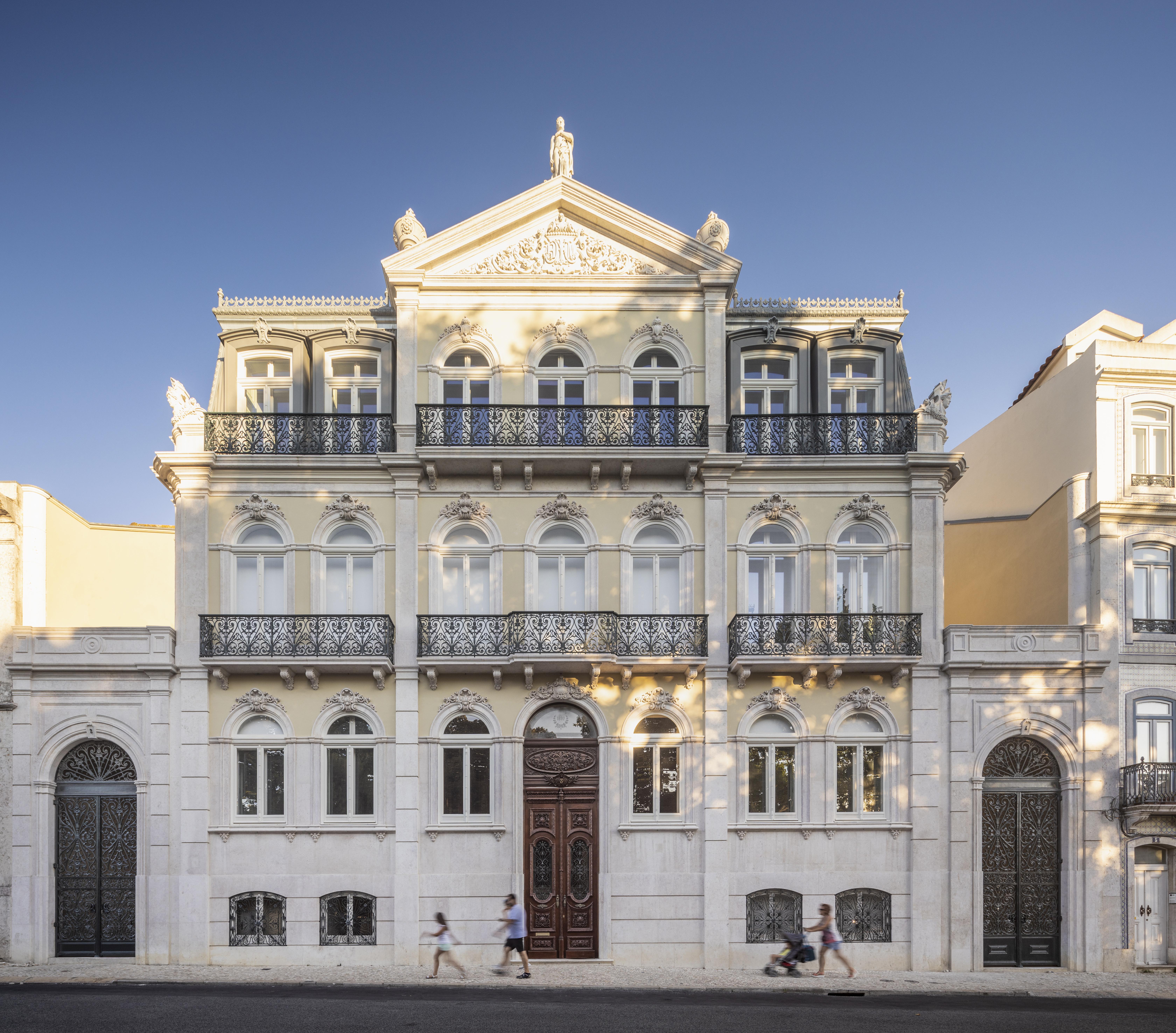 Palácio Faria, no Prícipe Real, em Lisboa / EastBanc