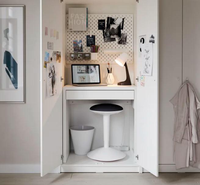 Mesas para pequenos espaços