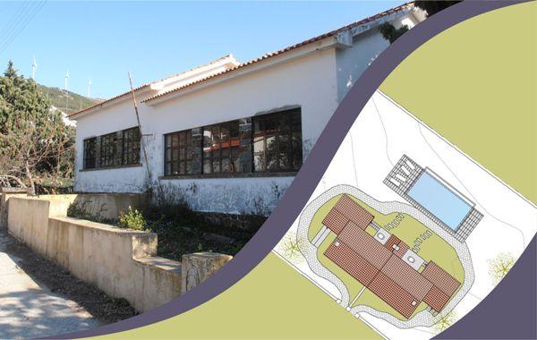 A antiga escola primária de Vale da Ursa será a primeira a ser intervencionada / https://www.cm-proencanova.pt/