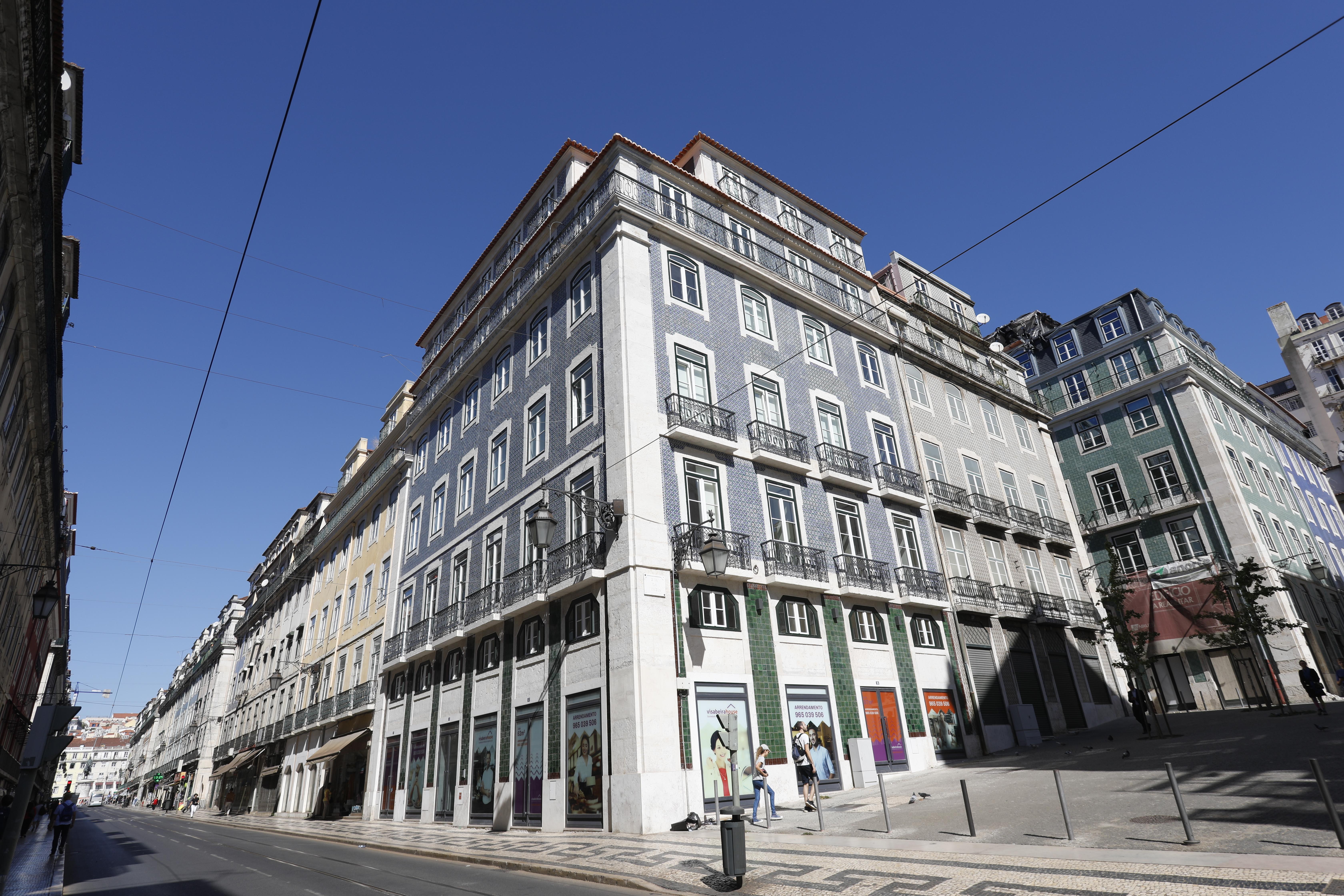 Edifício na Rua da Prata, em Lisboa / Visabeira