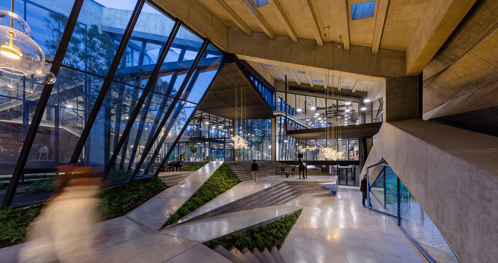 Um projeto de Giorgi Khmaladze Architects