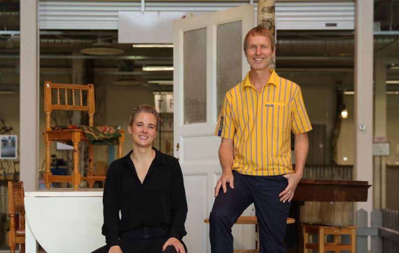 Sofia Bystedt (Retuna) e Jonas Carlehed (Ikea) / IKEA