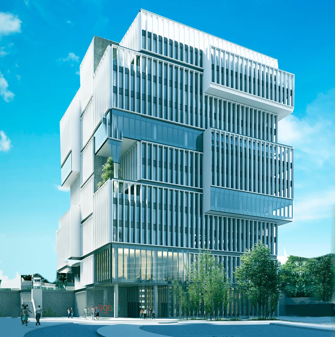 Assim será a sede da Ageas em Lisboa / Grupo Ageas Portugal