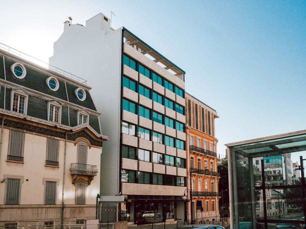 Escritório Mouzinho da Silveira 10, em Lisboa, aberto este ano / www.maleo.com