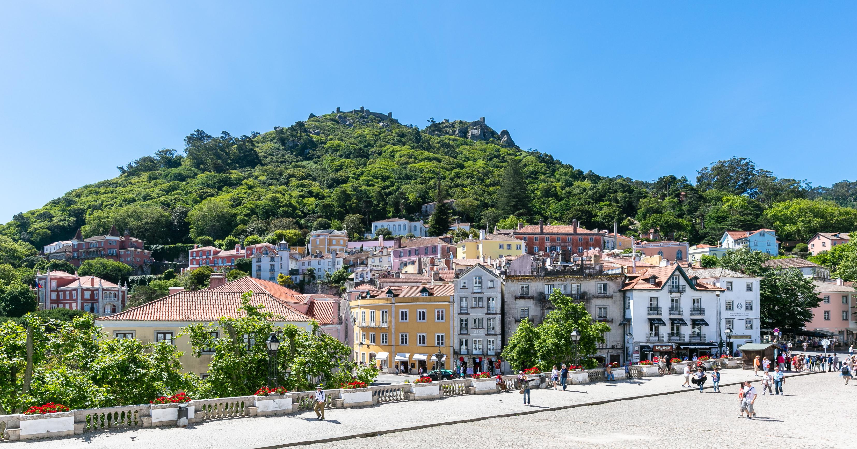 Obra insere-se napaisagem cultural de Sintra, classificada como Património Mundial da Humanidade pela UNESCO. / Wikimedia commons