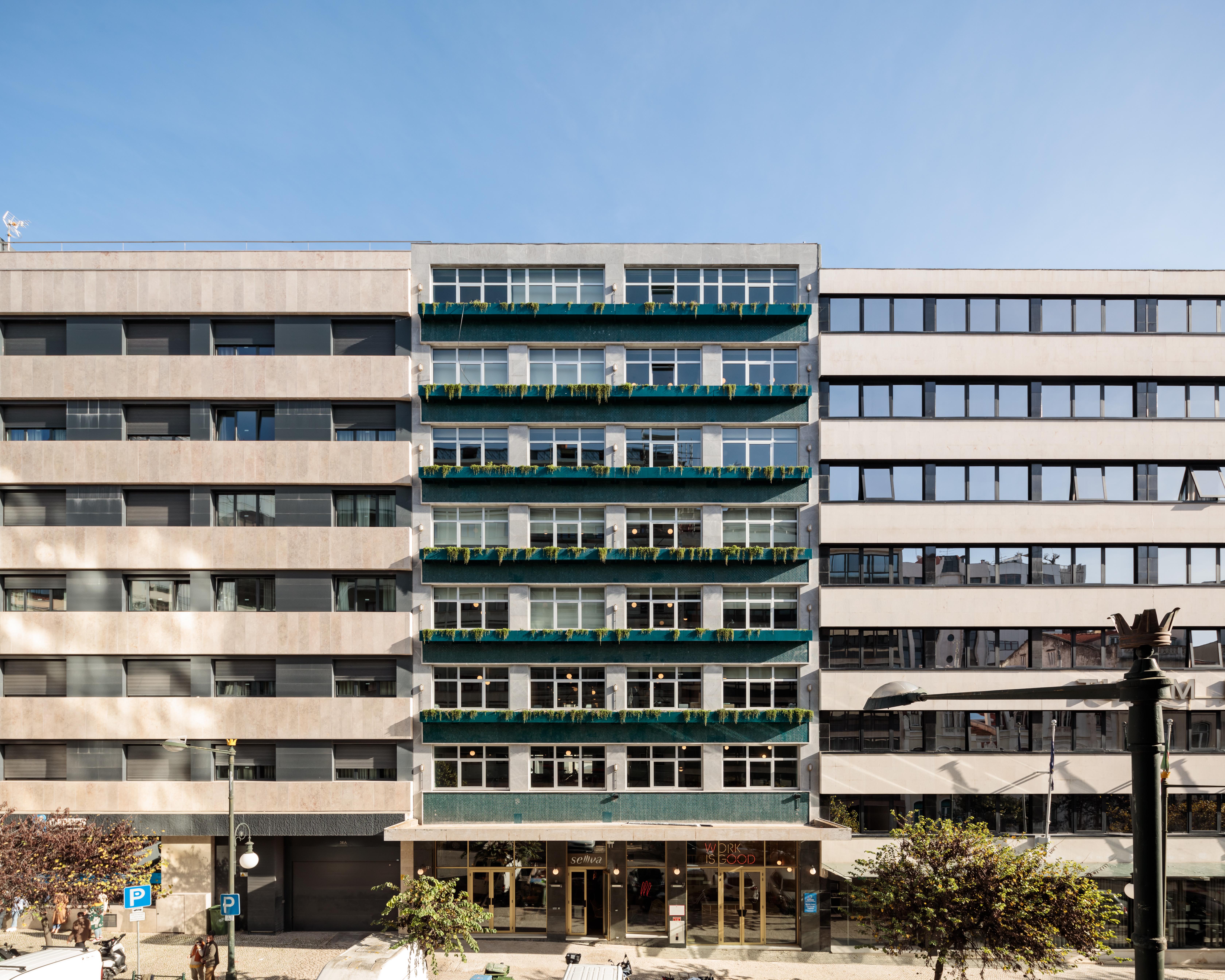 O Wood é um espaço de cowork e escritórios no Marquês do Pombal / Francisco Nogueira