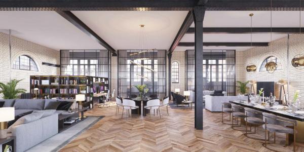 Um conceito de 'loft'