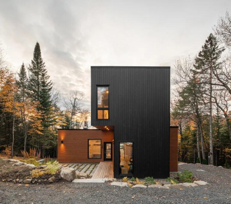 Uma bonita casa pré-fabricada