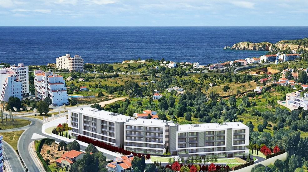 Terraços do Atlântico fica localizado perto da Praia Rocha. / Algarve Terraces