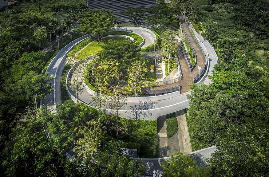 IDEO O2 - Bangkok, melhor Residential Landscape Architecture / architectureprize.com