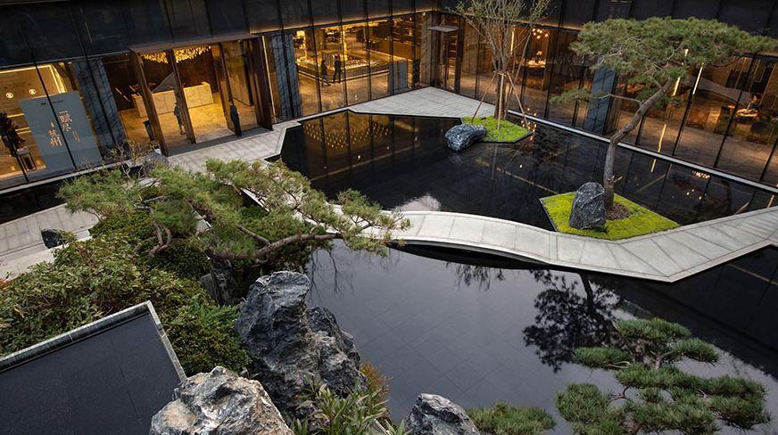 Chinoiserie Mansion Zen Club, melhor Commercial Landscape Architecture / architectureprize.com