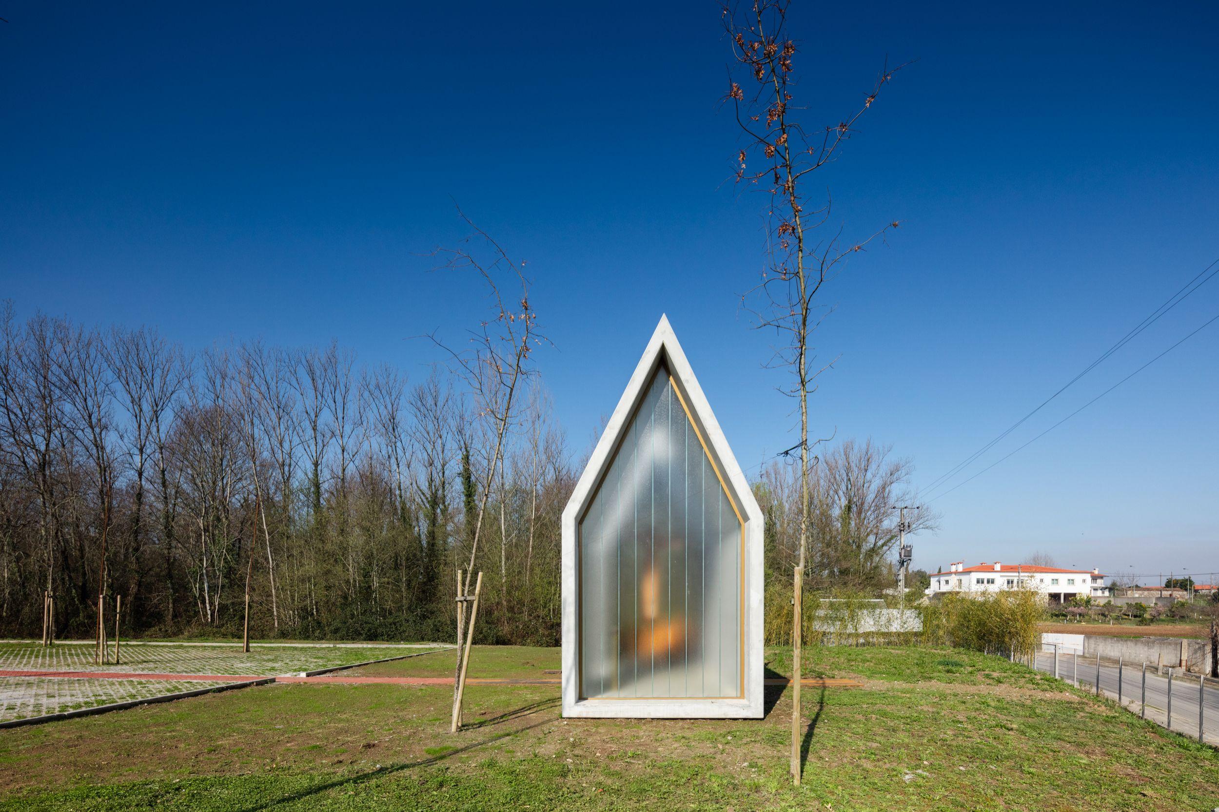 Capela, distinguido na categoria Small Architecture (Nuno Capa) / João Morgado