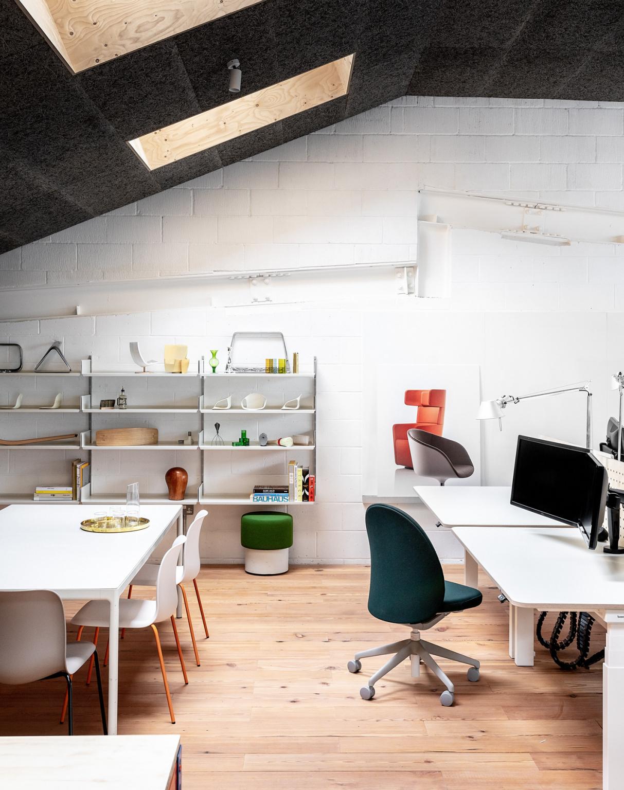 Um espaço de trabalho moderno