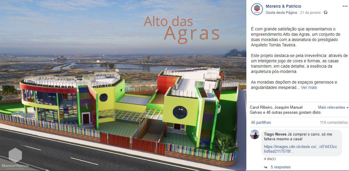 Moreira & Patrício Facebook