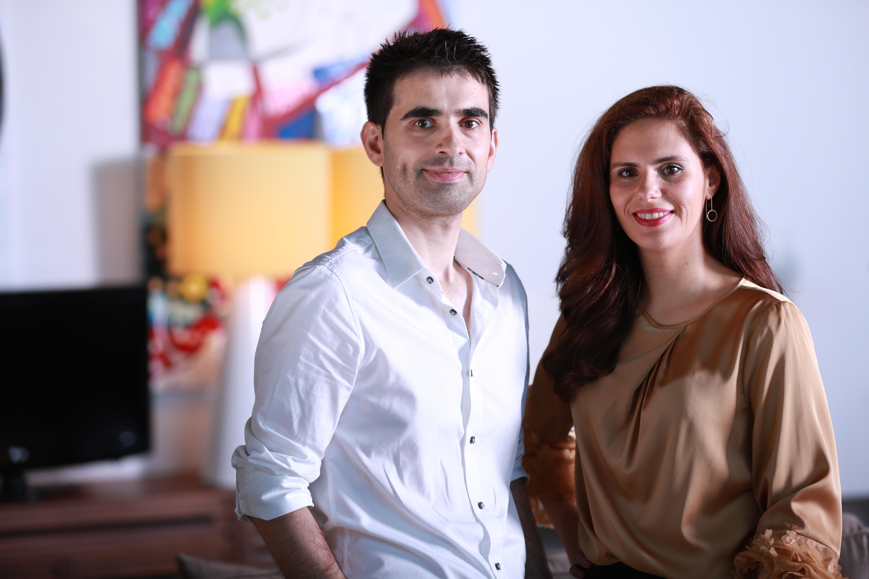 Miguel Fernandes e Marcelina Guimarães fundaram o gabinete em 2014. / Habitat Saudável